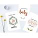 【Pregnancy】マイルストーンカード Milestone Cards x 27枚