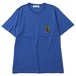 MARIA EMBROIDERED PKT TEE (BLUE) / RUDE GALLERY