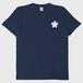 【オリジナルTシャツ】 ワンポイントネイビー(5.6oz. 綿100%)
