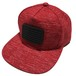 [A or J] Rubber Wappen Melange Cap / Red