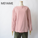 MEYAME/メヤメ・Back Pleats Basque Shirt