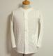 1900's~ ヨーロッパアンティークシャツ 片ポケ 白