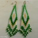Hippie&Ethnic Fringe Pierce    -GREEN-