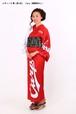 カープ浴衣 レディース 粋(赤×白) Carp(背番号なし) 仕立て上がり S~L ポリエステル