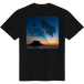 HACHIJO ISLAND LOGO TEE - BLACK