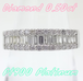 【SOLD OUT】0.50ⅽt パヴェダイヤ ハーフエタニティリング プラチナ ~【Good Condition】0.50 ⅽt pave diamond half eternity ring platinum~