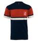リバプールFC(Liverpool FC)Mens Navy 胸ストライプ Tシャツ