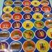 訳あり!!ハヌカのミニシール35枚☆35 Small Hanukkah Stickers