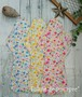 布ナプキンLサイズ(水彩タッチ花うさぎ)