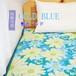 超COOL 接触冷感 敷パッド/寝具 【花柄 シングルサイズ】 洗える 軽量 『COLD BLUE』 〔寝室 ベッドルーム〕  ds-2186457