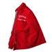 1970's [Marquart's] コーデュロイジャケット ロング丈 中綿キルティング TALONダブルジッパー レッド 表記(40) ヴィンテージ