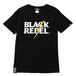 REBELS LIGHTNING TEE (BLACK) / RUDE GALLERY BLACK REBEL