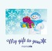 【限定10枚】My gift to you - momorie - 冬のおくりもの