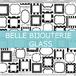 A3@1198(税別)【ガラス】 BELLE STICKERブラック