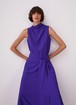 DRESS WITH ASYMMETRIC NECKLINE