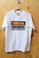 ROUGH AND RUGGED (ラフアンドラゲッド) DESIGN CT-04 (プリントTシャツ) White