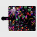 (iPhone8Plus/7Plus サイズ)手帳タイプ:花火の宇宙(KAGAYA)