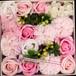 再入荷!ソープフラワーギフト 運気アップピンク(ガトー・ド・ソープフラワーブーケ gateau de sabon bouquet)ソープフラワーケーキ