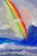 あなたの夢を叶える虹 実千夜 アートカード