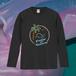 禁断の多数決 サンセットビーチ ロングTシャツ(黒)