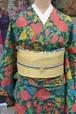 ボタニカル☆シルクウールの普段着着物