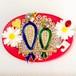 986 仲良し 鳥親子 ブローチ(帯飾り)