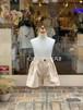 KIDS:NEEDLEWORKS STANDARD【ニードルワークススタンダード】Stretch Short pants(ベージュ/80〜150cm)ストレッチショートパンツ