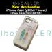 アイビーカラー iphone case / snow (glitter)