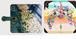 オーダーメイド 百光の絵 携帯ケース 手帳型