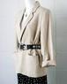 linen mixed tailored jacket
