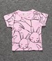 "【送料無料 】T-shirs for kids ""Rabbits"""
