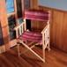[限定カラー]Tabi Obi Air Chair LoveWood WineStripe (オビ チェア・ワインストライプ)