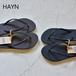 HAYN/ハイアン・ホワイトソールサンダル