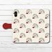 #053-016 iPhoneケース スマホケース 手帳型 全機種対応 シンプル 可愛い iPhoneXS/X Xperia iPhone5/6/6s/7/8 ケース おしゃれ Galaxy ARROWS AQUOS HUAWEI Zenfone タイトル:幸せハリネズミ 手帳型iPhone,Androidケース 作:Hanami