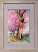 大口満・大島画廊コラボ額装 『桜のころ』