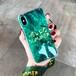オリジナル アイフォンXケース エメラルド HELLO SUMMER iPhone7 Plusケース 芸能人愛用 ソフトケース ペア ストラップ付き アイフォン6s携帯カバー