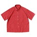 Porter Classic - Happy Red Short Sleeve Shirt - RED [PC-053-1337]