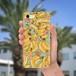 スマホケース(iPhone & Android)バナナ / 色:グリーン