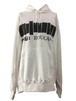 ANTI OVER SIZE PULLOVER HOODIE -WHITE-