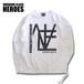 Mondrian Logo L/Sl T-shirt -White