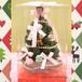 Xmasクリスマス・ツリー デコツリー・チャームストロベリー19cmXMAS-53