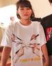 『ファミリー☆ウォーズ』Tシャツ(B)白