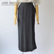 JANE SMITH/ジェーンスミス・wrap long skirt