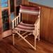 """[限定カラー]Tabi Obi Air Chair """"LoveWood"""" Wine/Beige Stripe (オビ チェア・ワイン/ベージュST)"""