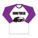 """Don't Know Where"" Long sleeve T-shirts PURPLE"