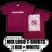 MIX LOGO T-SHIRTS[赤]