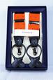 AtelierF&B Dot Suspender -Orange アトリエF&B サスペンダー