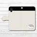 #053-019 iPhoneケース スマホケース 手帳型 全機種対応 シンプル 可愛い iPhoneXS/X Xperia iPhone5/6/6s/7/8 ケース おしゃれ Galaxy ARROWS AQUOS HUAWEI Zenfone タイトル:シンプルハリネズミ(黒) 手帳型iPhone,Androidケース 作:Hanami
