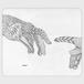 手帳型(帯なし)サイズ(L):kazue.M_013「手」