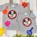 【キッズ】ミッキーマウス プリントTシャツ